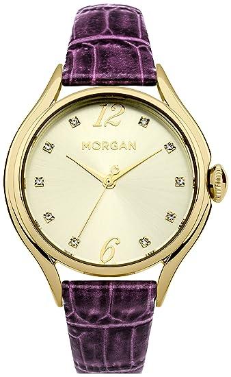 Morgan Reloj Mujer de Analogico M1217VG