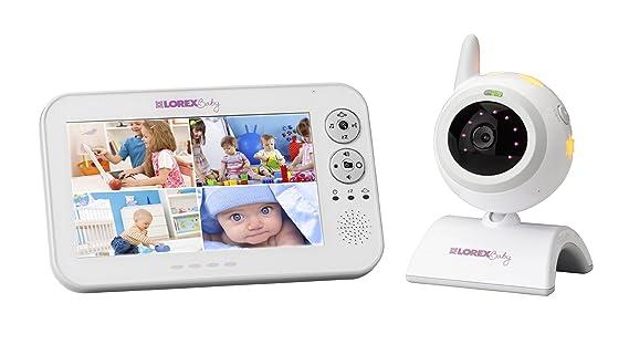 Lorex BB7011 137m Wi-Fi Blanco video-monitor para bebés - Vigilabebé ...