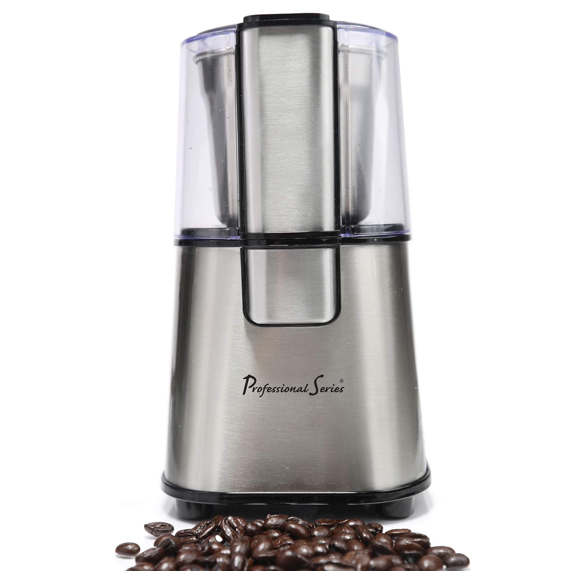 Continental Electric PS-CG008 Electric Grinder, 12-TSP, Stainless Steel by Continental Electric