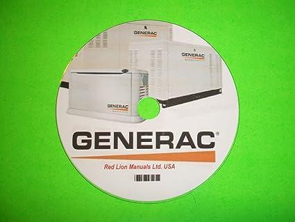 Generac RV Generator Model 9592-3 & 9593-3 Series Q-55G & Q