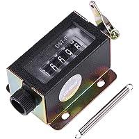 D67-F 0-99999 5 siffror Återställbar mekanisk manuell handdragande slagräknare