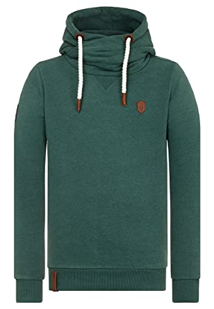 Naketano Male Hoody Dirty Küfürbaz AMK Dirty Green Melange