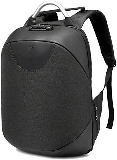 Women Smiley Headphone Hole Backpack Slung Shoulder Bags Mobile Phone Purse for Teen Girls Black