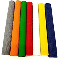 Make or Break Premium Cricket Bat Grip Rubber Replacement Handle Non Slip Good Grip Various Styles Pack of 3 or 4