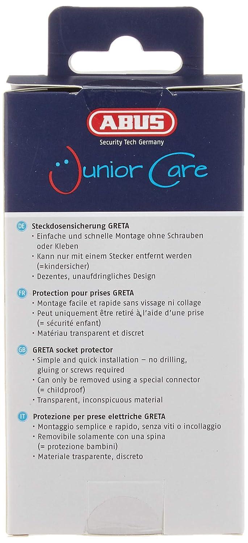 ABUS Junior Care 76975 Steckdosensicherung Greta JC2100A wei/ß