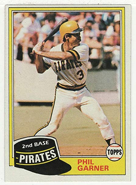 Amazoncom Phil Garner Baseball Card 1981 Topps 573 Nm