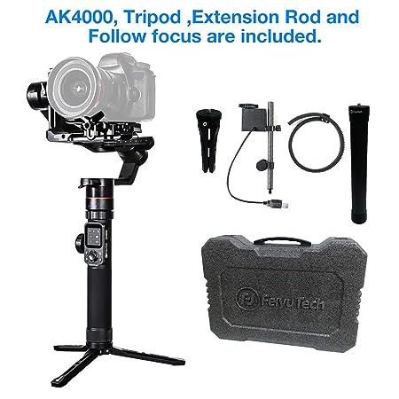 FeiyuTech AK4000 3-Axis Gimbal Stabilizer for Mirrorless   DSLR Camera Sony  Canon Panasonic Nikon e5fda0ee114c