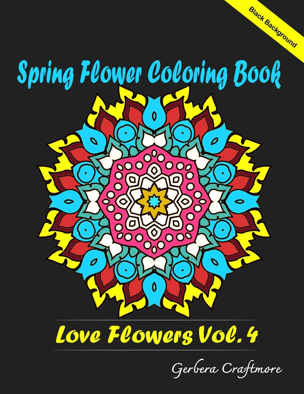 Amazon Com Spring Flower Coloring Book An Adult Coloring Book