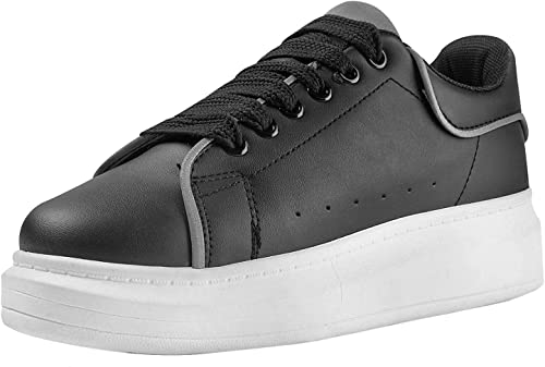 FITFOOT Women Chunky Platform Trainers