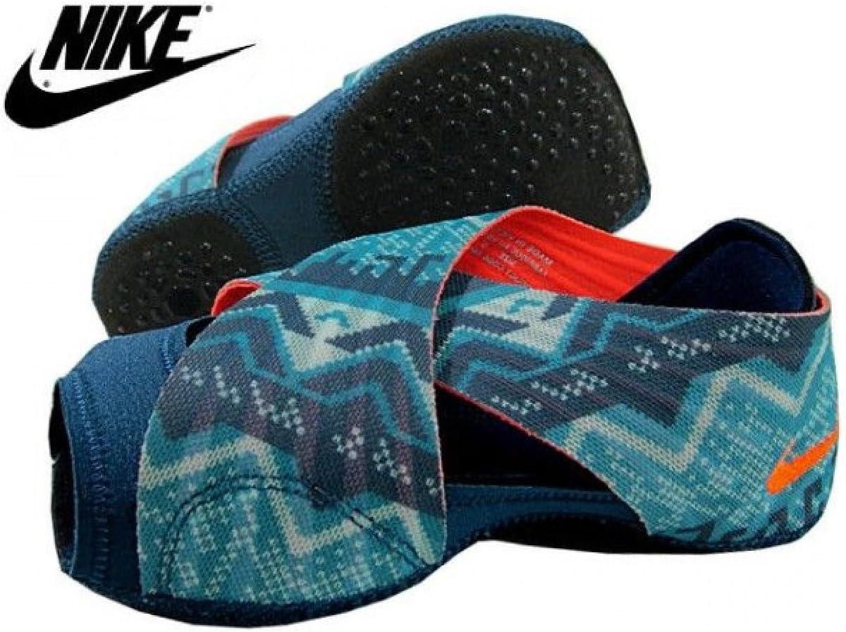 Amazon Com Nike Women S Studio Wrap Yoga Dance Barre Training Shoes Space Blue Hyper Crimson Dusty Cactus Small Sports Outdoors