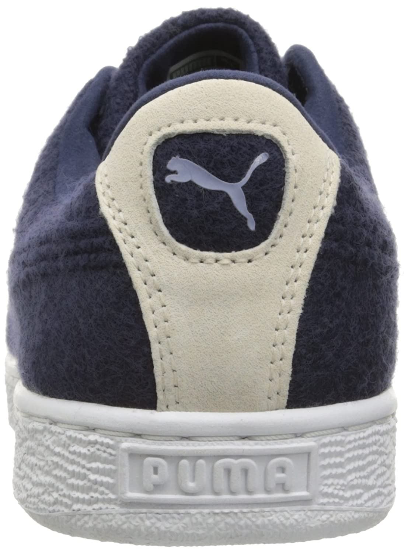 PUMA PUMA PUMA Men's Basket Classic Embossed Wool Fashion Turnschuhe, Peacoat Tempest, 8 M US c214d8