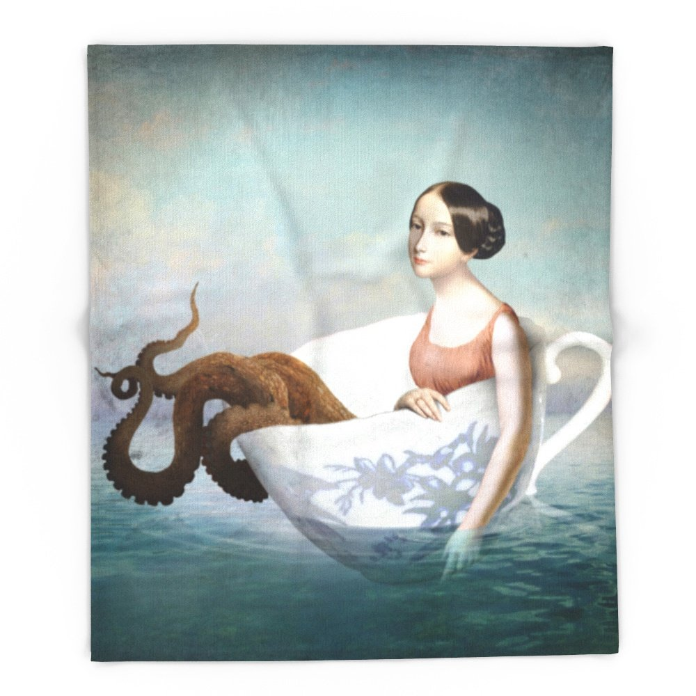 Society6 Afloat 88'' x 104'' Blanket by Society6