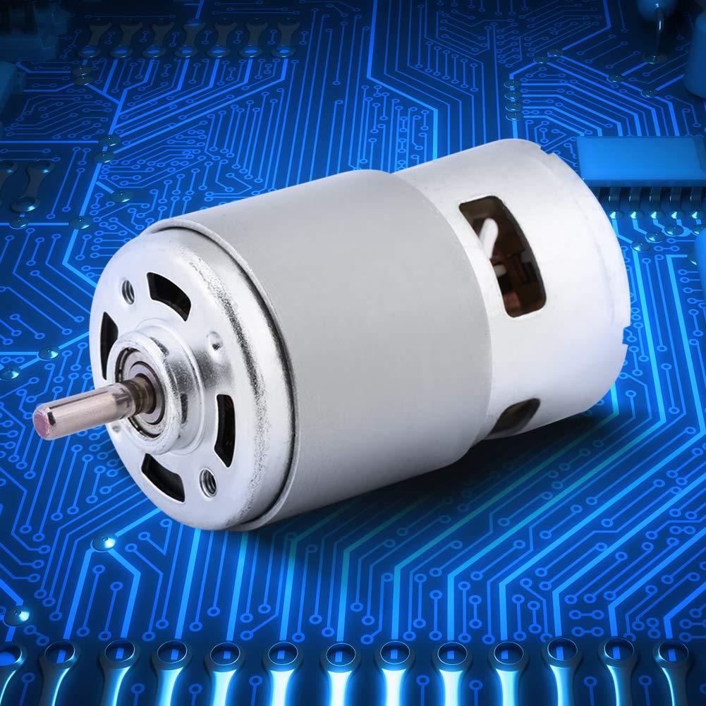 Alta Potencia Aplicada a Herramientas El/éctricas Rendimiento Duradero 150W Tama/ño Peque/ño Hecho de Alambre de Cobre Acogedor DC Motor 12V sin Escobillas Motor El/éctrico