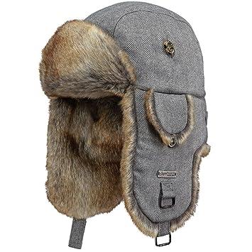 f0037b23703 Barts Kamikaze Chapka Blanc  Amazon.fr  Vêtements et accessoires