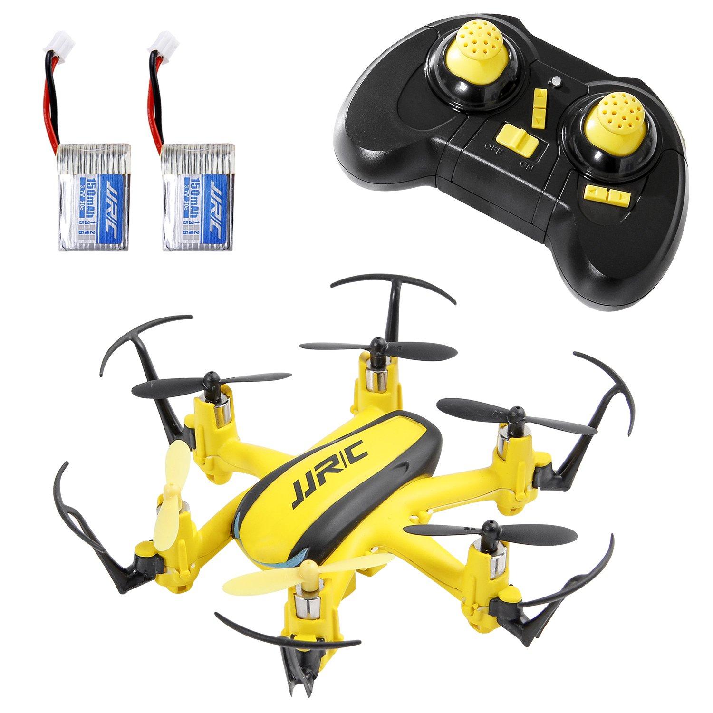 SGILE Mini RC UFO Quadcopter Nano Drone with 2 Free Batteries, 360° Flip One Key Return/Rotation