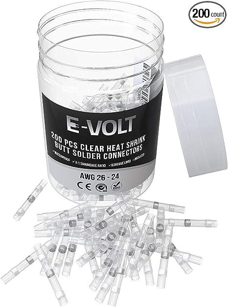 200X AWG Heat Shrink Solder Seal Wire Connectors Splice Terminals Waterproof