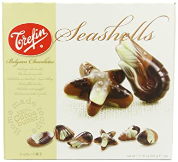 Trefin Belgian Chocolate Seashell