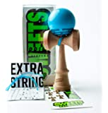 Amazon Com Kaleb Kendama With Green Sour Face Ball And