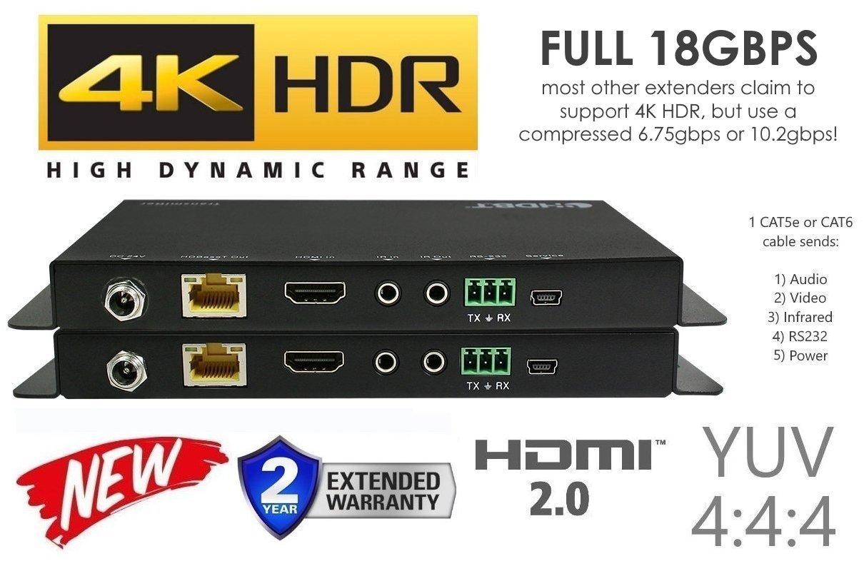 8x8 HDMI 2.0 HDR 4K 18GBPS 60HZ Matrix Switcher YUV 444 HDCP2.2 HDTV Routing Selector SPDIF Audio Control4 Savant Home Automation (8x8 HDMI HDR) No Hassle AV International 8X84KHDMI