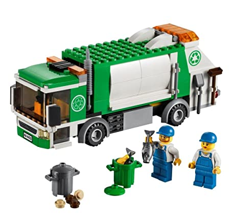amazoncom lego city garbage truck 4432 toys games - Camion Lego