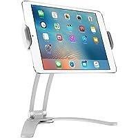 Cellet Soporte universal de escritorio y pared (2 en 1) con rotación de 360º para Apple iPad Pro 10.5, Pro 9.7, iPad Mini 4, Samsung Galaxy Tab S3, Amazon Fire HD), blanco, Porta Pastillas Blanco, Blanco