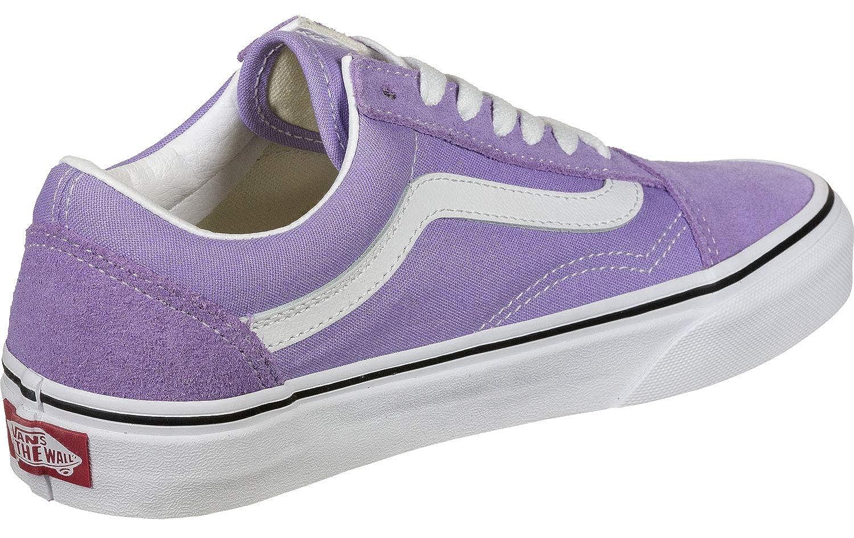 Vans Old Skool Calzado Violet TulipTrue White: Amazon.es