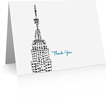 Amazon new york city thank you cards 24 cards and envelopes new york city thank you cards 24 cards and envelopes new york greeting cards m4hsunfo