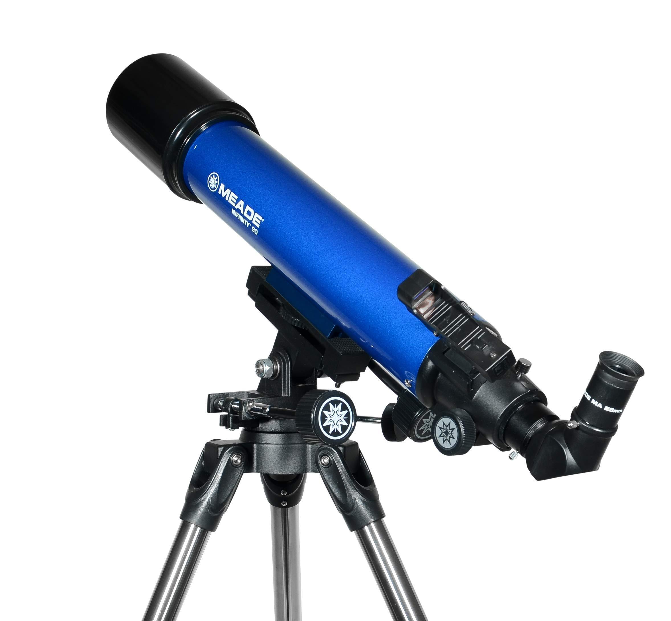 Meade Instruments 209005 Infinity 90mm AZ Refractor Telescope (Renewed) by Meade Instruments