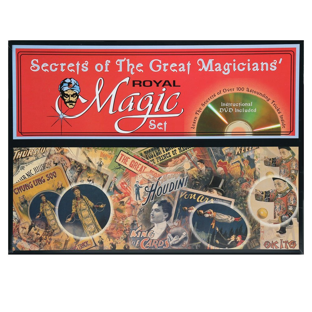 Forum Royal Magic Set - Secrets of The Great Magicians by Forum Novelties
