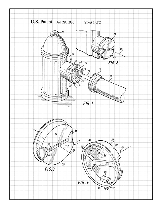 Amazon Com Coupling For Fire Hydrant Fire Hose Connection Patent
