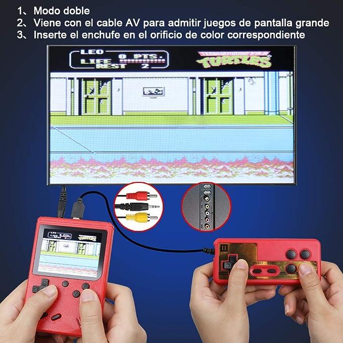 Amazon.es: Anpro Consola de Juegos Portátil, Juegos ...