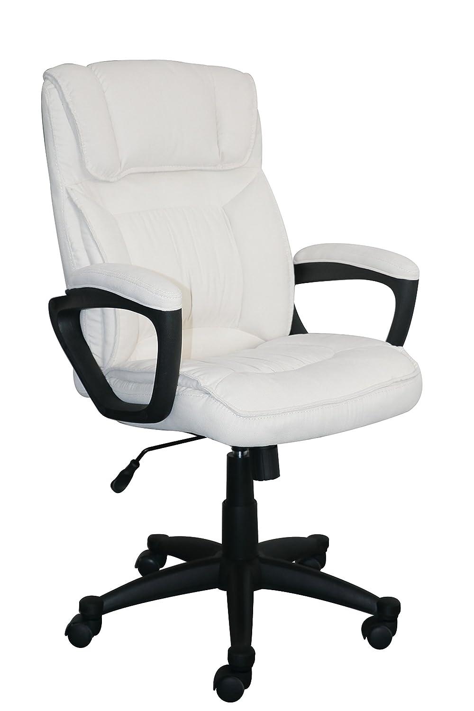 Serta Style Hannah I Office Chair, Microfiber, Ivory