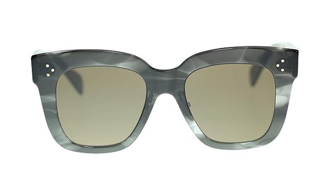 d8fd6688497 Image Unavailable. Image not available for. Color  Celine Rectangular  Women s Sunglasses ...