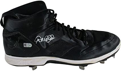 b5394268a9b Derek Jeter Signed 2014 Game Used Black/White Cleats (Single) Size: 11.5