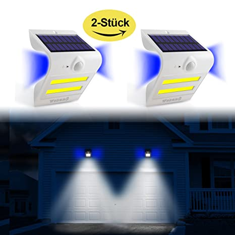 Solar Leuchten Outdoor Sensor de movimiento super Bright Solar apliques 32 LED Iluminación + 3 Backlight