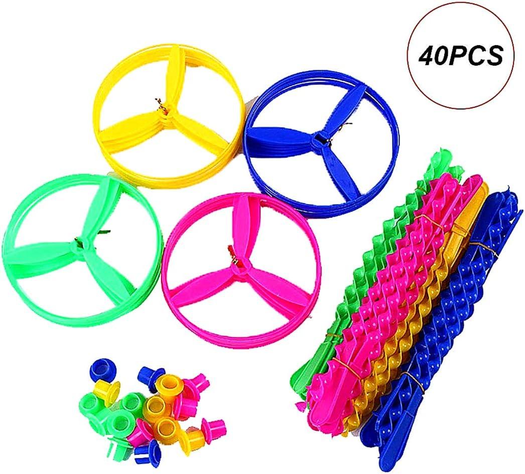40pcs cadena de tracción platillos volantes Spinning Flying ...