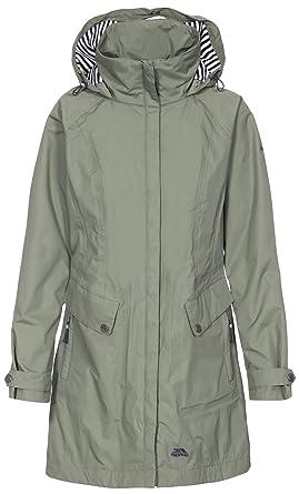 9d8e884d0 Trespass Womens/Ladies Rainy Day Waterproof Jacket: Amazon.co.uk ...