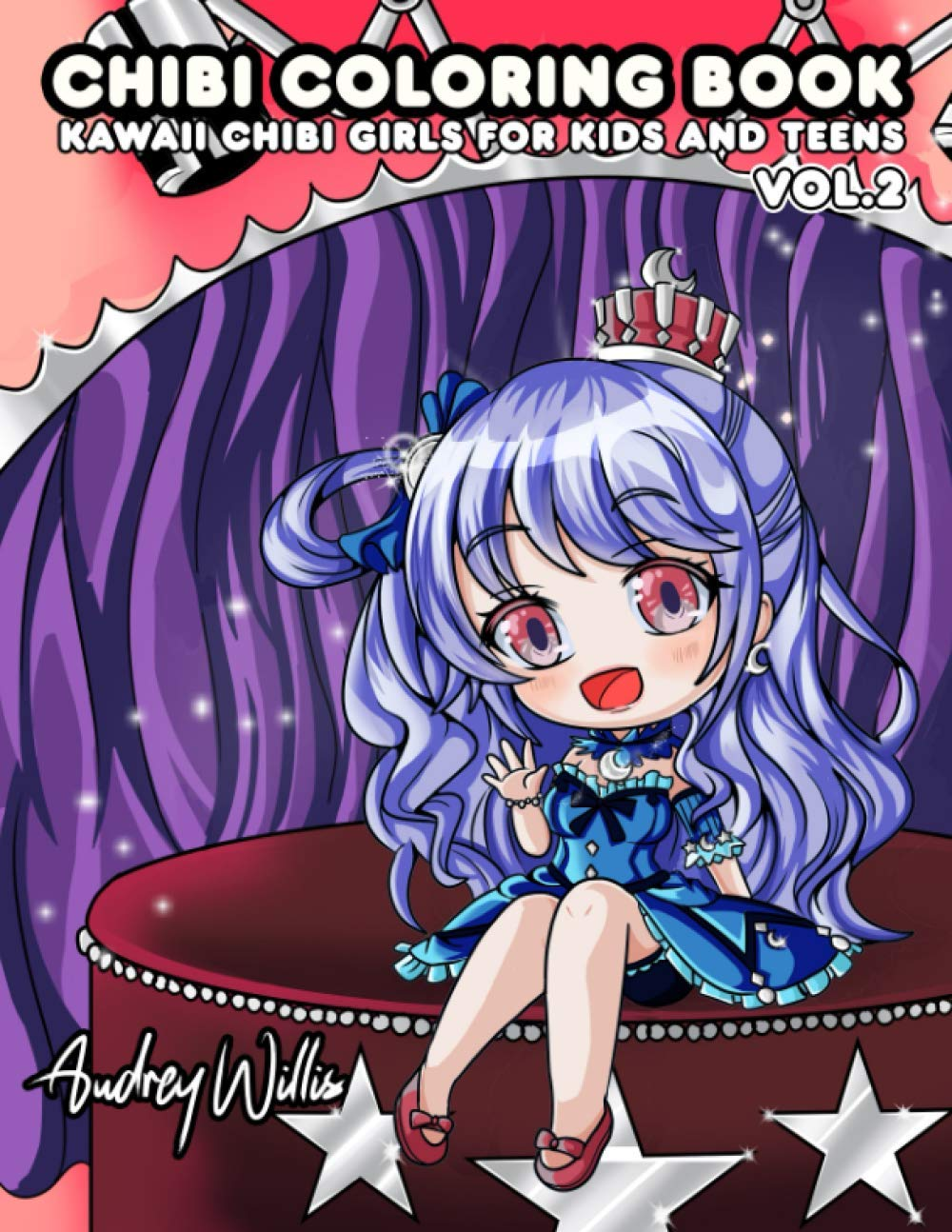 Chibi Coloring Book Kawaii Chibi Girls And Super Cute Anime Manga Characters Coloring Page For Kids And Teenagers Vol 2 Willis Audrey Print Joyful 9798709937000 Amazon Com Books