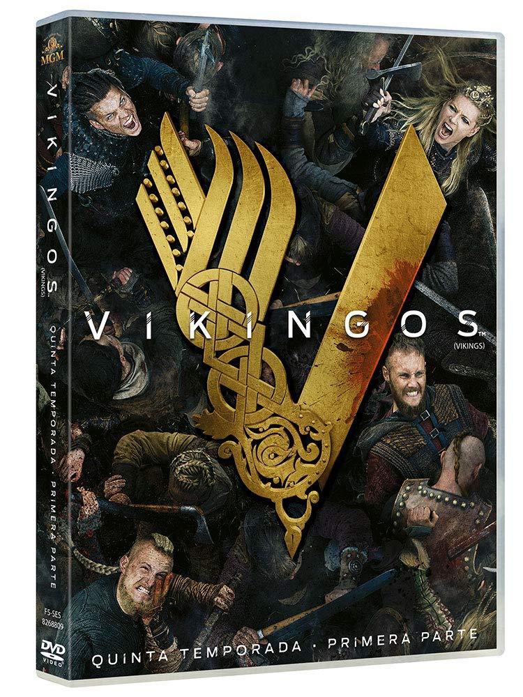 Vikingos Temporada 5 Volumen 1 [DVD]: Amazon.es: Travis Fimmel, Katheryn Winnick, Gustaf Skarsgård, Alexander Ludwig, Michael Hirst, Travis Fimmel, Katheryn Winnick: Cine y Series TV