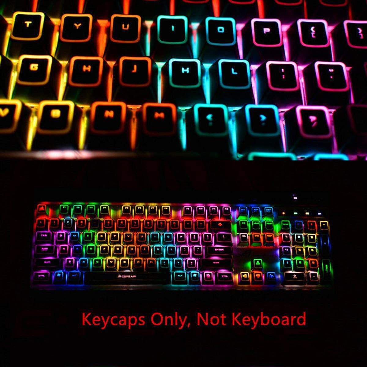 104 teclados ROG retroiluminados para Teclado mecánico Corsair K65 K68 K70 RGB K95 Platinum Strafe
