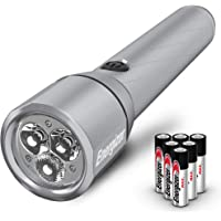 Energizer Alkaline 1300-Lumen LED Handheld Flashlight with Battery Included (Black)