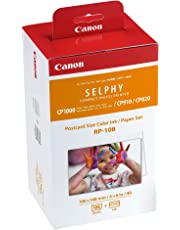 Canon Selphy RP-108 High-Capacity Color Ink/Paper Set Ink