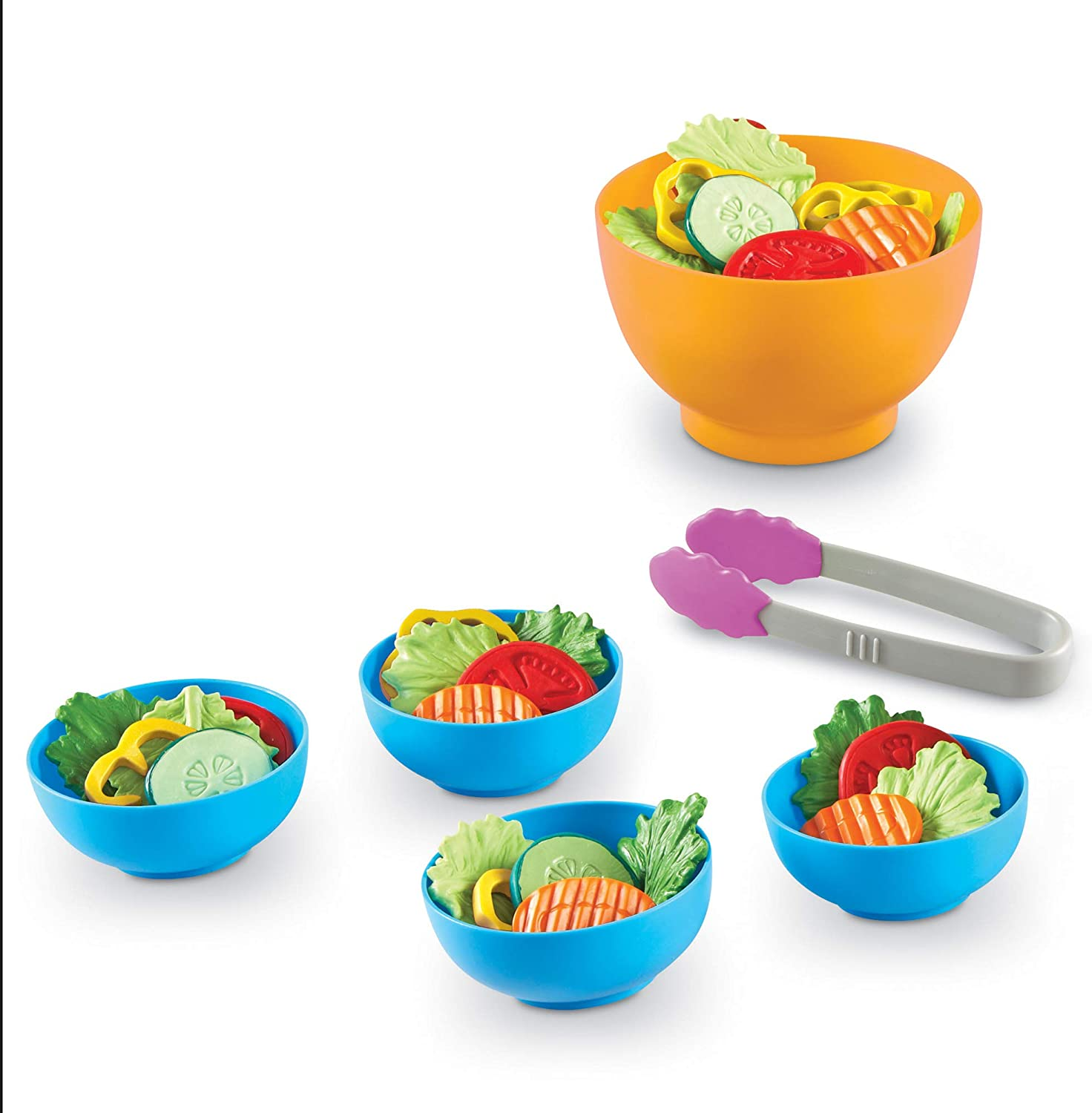 Learning Resources- Kit de Ensalada Fresca de la Huerta New Sprouts, Color (LER9745-D)
