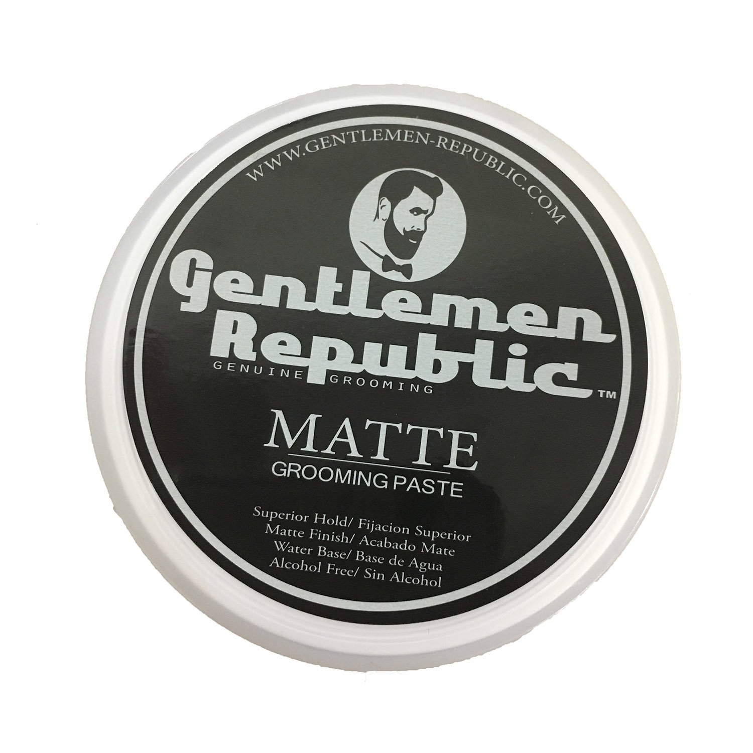 Gentlemen Republic Matte Grooming Paste Genuine Grooming for Men - 4 oz