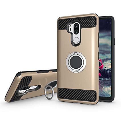 Amazon.com: Newseego - Funda para LG G7 con doble capa 2 en ...