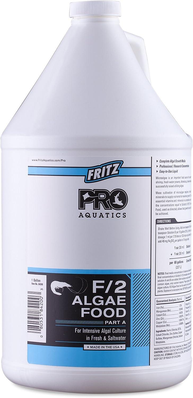 Fritz Aquatics PRO - F/2 Algae Food PTA- 1 Gallon (84200)