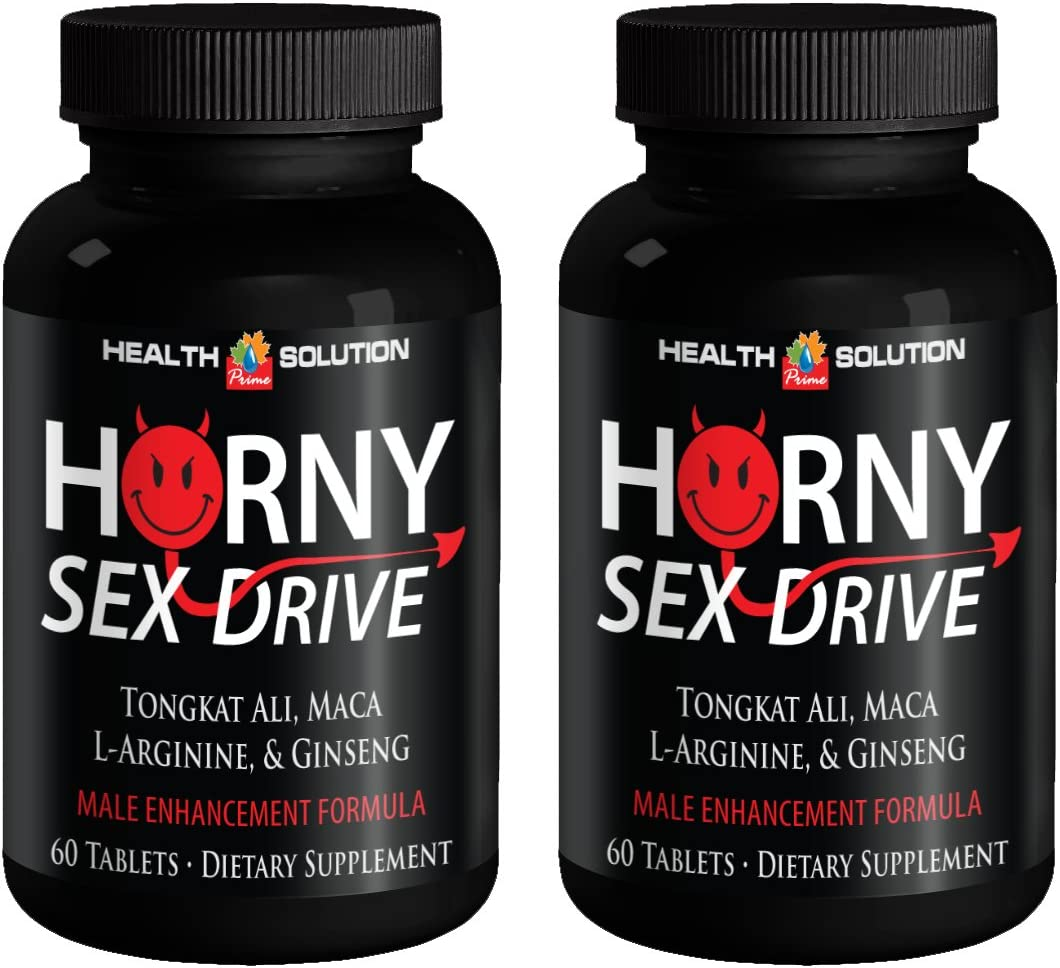 Male Enchantment Pills Increase Size and Length - Horny Sex Drive - Maca - 2 Bottles 120 Tablets