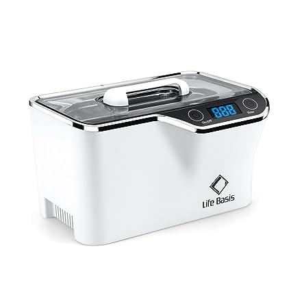 LifeBasis Ultraschallreiniger - Ultraschallreinigungsgerät 600ml Digitaler Ultraschallreiniger Ultraschallgerät 42KHz Ultrasc