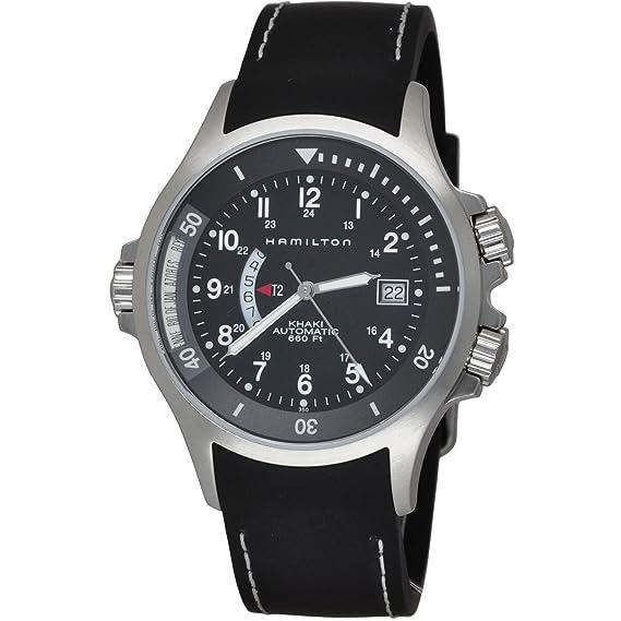 Hamilton Reloj Analogico para Hombre de Automático con Correa en Plástico H77615333