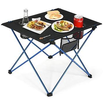 Amazon.com: Goplus - Mesa de camping portátil, mesa plegable ...